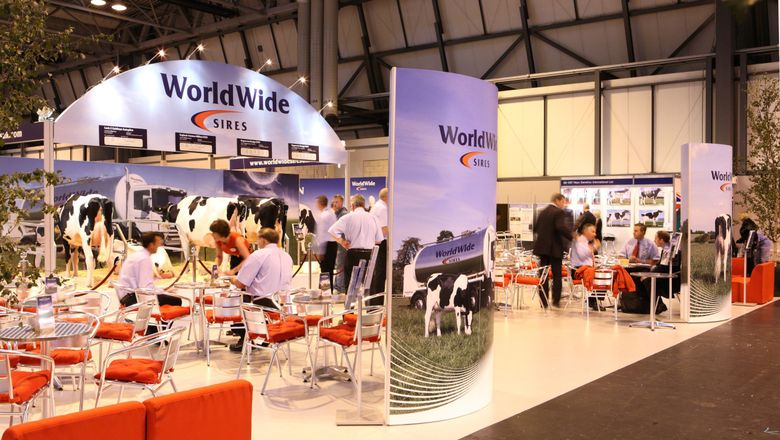 World Wide Sires hospitality area by Mobex