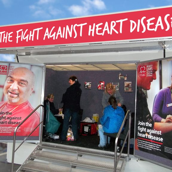 British Heart Foundation Awarness Campaign Roadshow