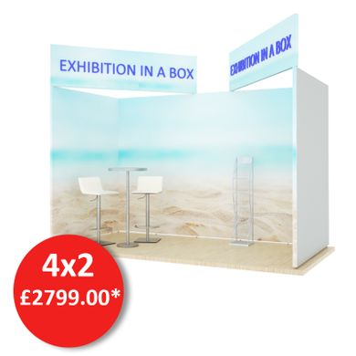 4x2 Mobex Besopke Exhibition Stand