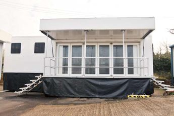 Second-hand trailer units available for sale