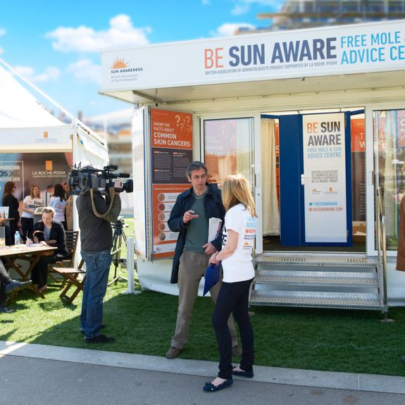 Sun Awareness Engagment Campaign and Consultation in Potters Field