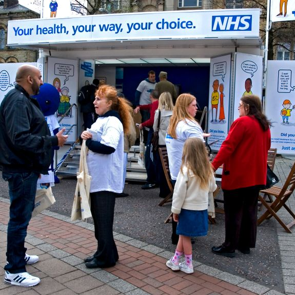 NHS Choice Health Consultation Roadshow in Heywood