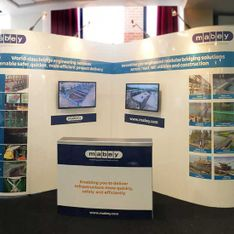 Mobex exhibition stand design