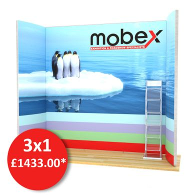 3X1 Mobex Bespoke Exhibition Stand