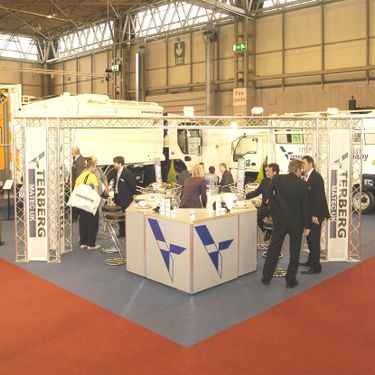 Bespoke exhibition stand design and build by Mobex