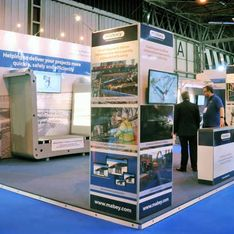 Bespoke Mobex exhibition stand design and Build