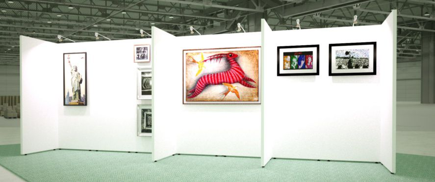 Mobex built bespoke exhibition galleries, displays and shopping villages